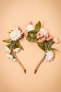 70s Blossom and Bloom Floral Crown