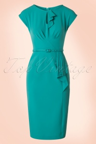 Stop Staring 40s Timeless Green Dress 100 32 20581 20170516 0004W
