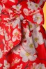 Lindy Bop Dawn Orange Floral Dress 102 27 21235 20170501 0006V