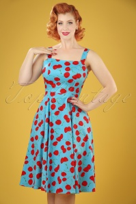 Hearts and Roses Blue Cherry Swing Dress 102 39 21738 20170425 04W