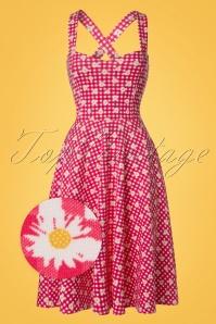 Vintage Chic TopVintage Exclusive Marcella Daisy Halterneck Dress 102 27 21000 20170428 0003W1