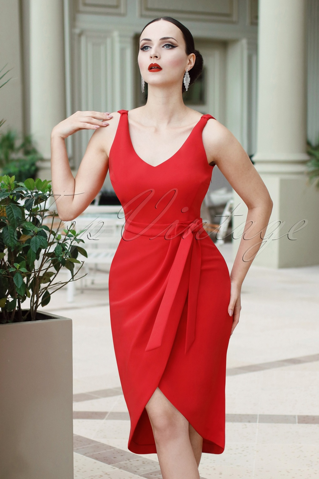 The Eve Dress In Red