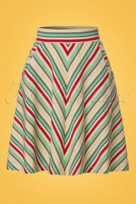 King Louie Striped Skirt 123 57 20297 20170428 0002W