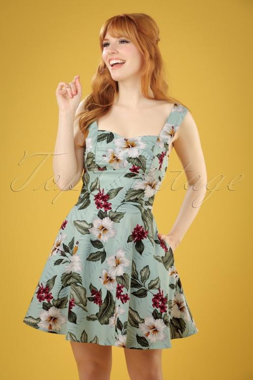 Bunny Tahiti Green Mini Dress 102 49 21074 20170420 0006W