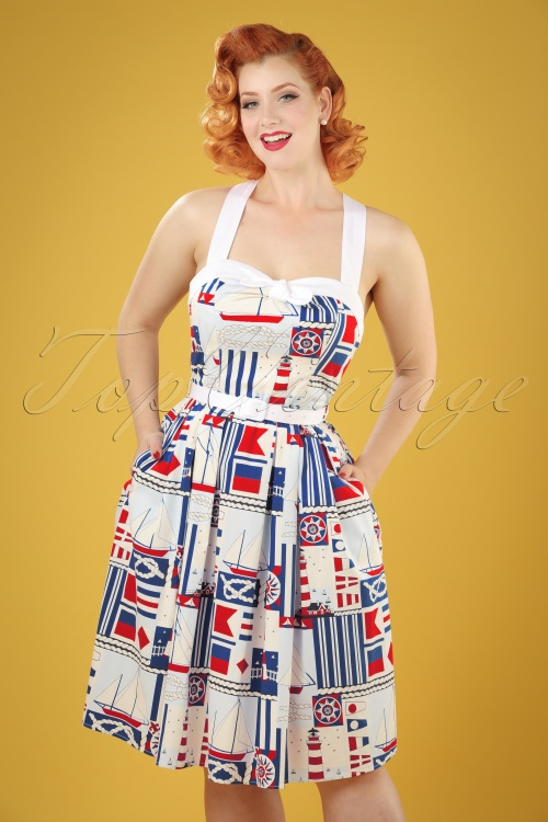 Bunny Lighthouse 50s Style Dress 102 57 21061 20170323 0015W