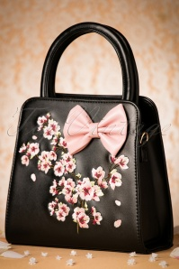 Dancing Days by Banned Black Floral Bag 212 10 21098 05182017 015W