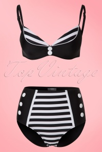 Bellissima Black and White Bikini  21179 & 22117 20170519 0002W