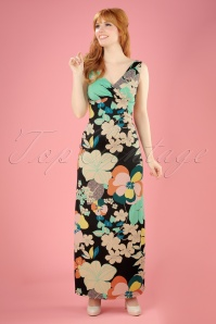 King Louie Ginger Floral Maxi Dress 108 14 20295 20170428 0006W