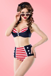 Bellissima Blue Red Sailor Bikini 21180 22118 20170522 00035