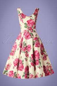 Lady V Charlotte Pink Rose Swing Dress 102 57 16071 20150702 0003W