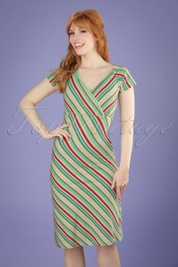 King Louie Gina Striped Dress 100 57 20296 20170428 01W
