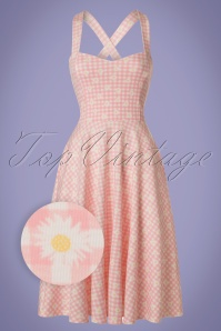 Vintage Chic TopVintage Exclusive Marcella Daisy Halterneck Dress 102 29 21001 20170428 0005W1
