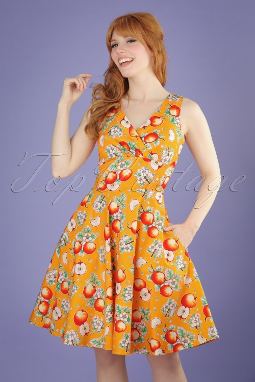 Bunny Sommerset Orange Apple Swing Dress 102 28 21065 20170406 1