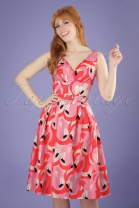 Victory Parade Flamingo Swing Dress 102 29 21500 20170502 1W