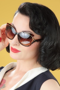 50s So Retro Milano Sunglasses in Turtoise