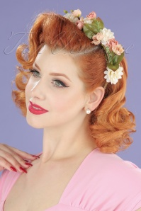 Collectif Blossom and Bloom Floral Crown 208 90 20355 05102017 modelW