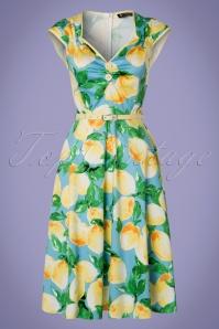 Lady V Isabella Lemon Swing Dress 102 39 21251 20170403 0015W