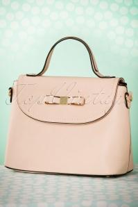 La Parisienne Pink Bow Handbag 212 22 22155 05302017 009W