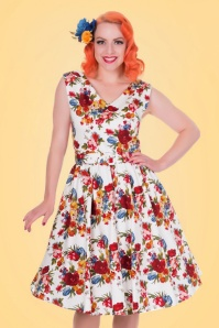 Dolly & Dotty Petal Swing Dress with Flowers 102 59 20742 20170529 0018