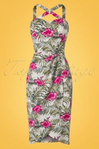 Collectif Clothing Mahini Tropical Hibiscus Saro 20678 20161130 0009W
