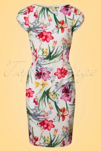 Paper Dolls Print Pleat Floral Pencil Dress 100 59 22193 20170531 0003W