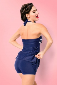 Bellissima Swimdress in Blue and White 162 39 22123 20170529 2