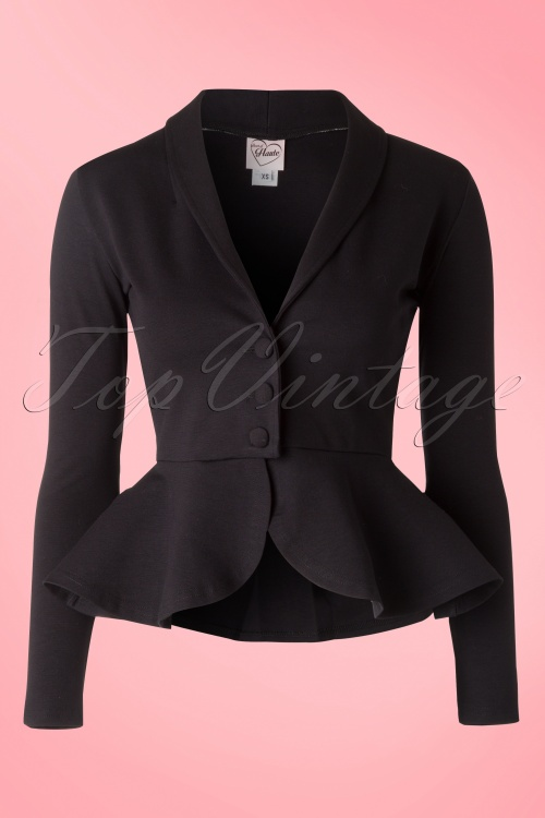 Heart of haute Diva Jacket in Black 150 10 16047 20150818 0015W