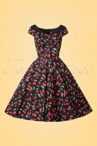 Bunny 50s Cherry Pop Swing Dress 104 14 14680 20150319 0003W