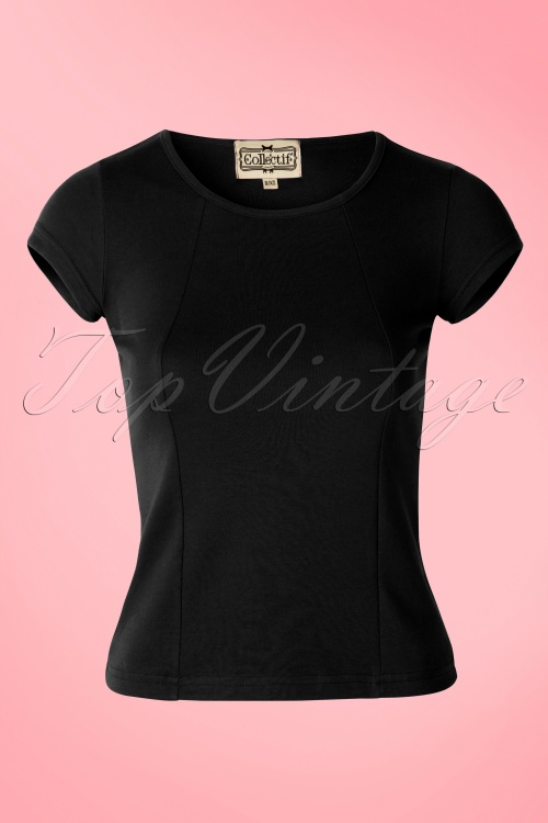 Collectif Clothing Alice Top Black 111 20 14388 01W