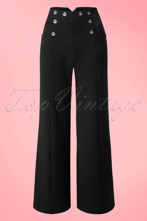 Dancing Days by Banned Blue Julia Trousers 131 31 17842 20160330 0006W
