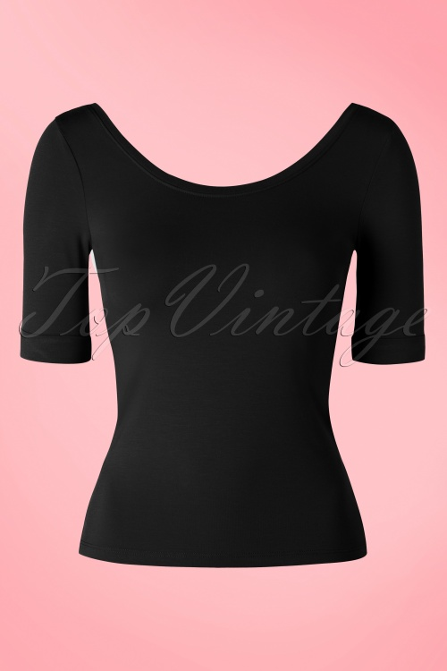 King Louie Ballerina Top Black 111 20 16561 20160112 0009W