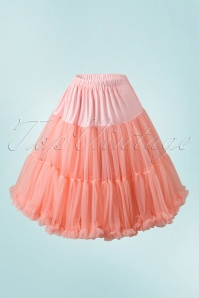 Banned Retro 50s Lola Lifeforms Petticoat in Salmon Pink