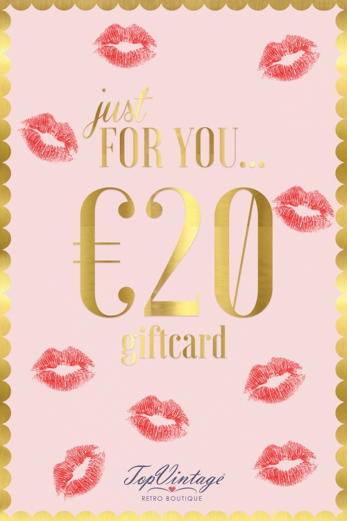 Top Vintage Gift Card 05312017 018W 20euro