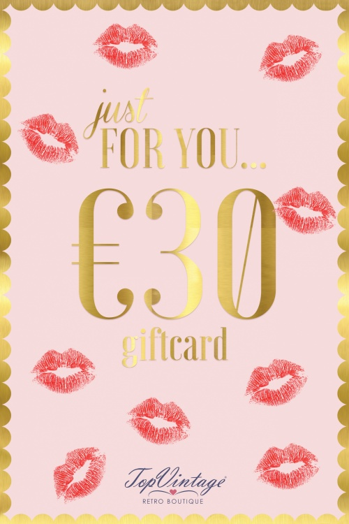 Top Vintage Gift Card 05312017 016W 30euro