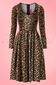 Vixen Frisky Fetish Leopard Troublemaker Swing Dress 102 79 21941 20170607 0012w