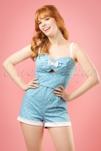 Collectif Clothing Ariel Nautical Playsuit in Bluie 20703 20161125 5w