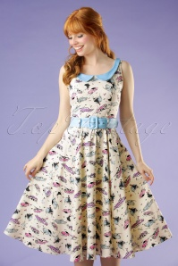 Collectif Clothing Kitty 50s Car Swing Dress 20694 20161129 0021W