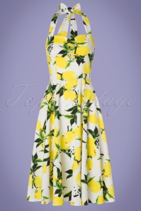 Hearts and Roses White Lemon Swing Dress 102 59 19990 20170418 0014W