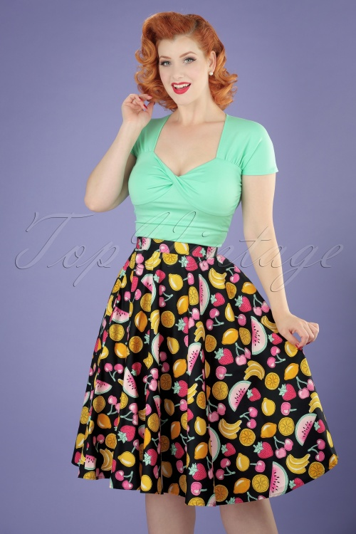 Bunny Tutti Frutti Fruit Swing Skirt 122 14 21059 20170322 0018W
