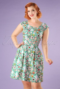 Retrolicious Mad Tea Party Dress 102 49 20474 20170313 0011W