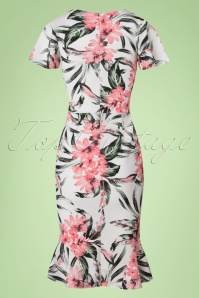 Vintage Chic High Summer Sofia Flower Dress 100 59 22078 20170616 0006w