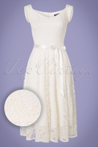 Vintage Chic Lace Off White Dress 102 50 21657 20170620 0002W1