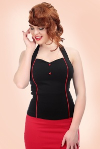 Collectif Clothing Roxanne Sweetheart Top 110 10 21476 20170621 01