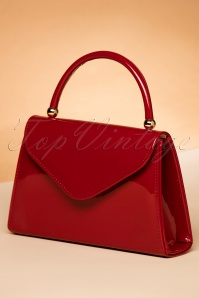 La Parisienne Flap Bag in Red 212 20 22266 06202017 016W
