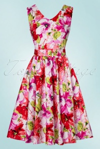 Dolly and Dotty Petal Floral Swing Dress 102 59 22323 20170627 0014w