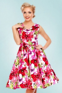 Dolly and Dotty Petal Floral Swing Dress 102 59 22323 20170627 0017