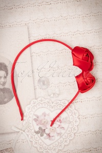 ZaZoo Thin Red Rose Hairband 208 20 22260 06272017 003W