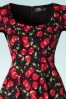 Dolly and Dotty Claudia Flirty Black Cherry Dress 102 14 18769 20160330 0006V1