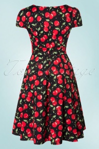 Dolly and Dotty Claudia Flirty Black Cherry Dress 102 14 18769 20160330 0003W