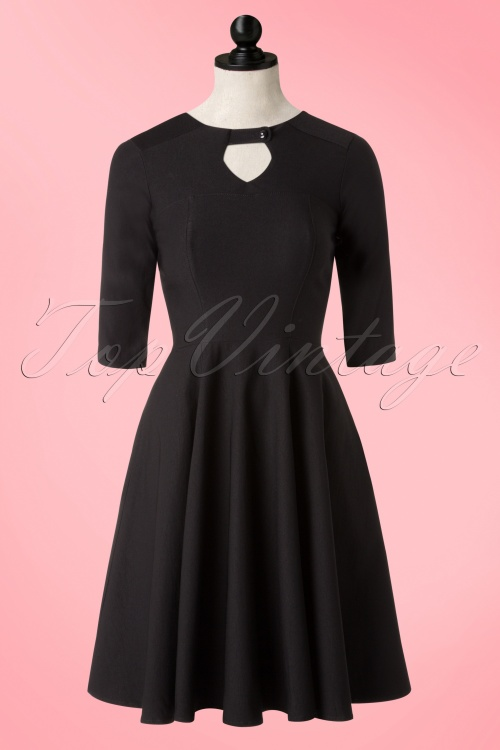 Rock Steady Clothing Diamond Black Dress 102 10 17051 20151210 0007pop